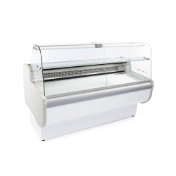 Igloo Rota 200 2.05m Slimline Curved Glass Serve Over Counter