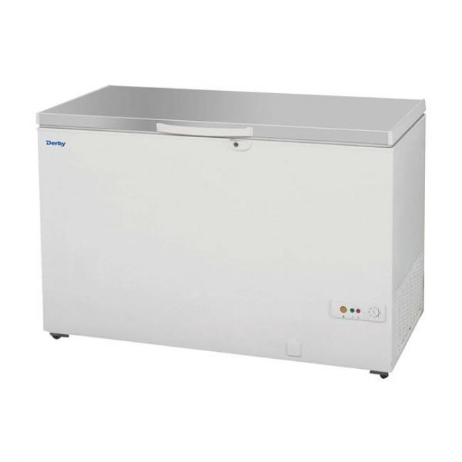 Chest Freezer Storage Baskets Derby F48SS Chest Freezer with Stainless Steel Lid - Storage Freezers ...