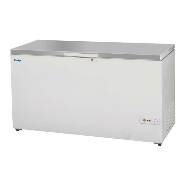 Derby F58SS Chest Freezer with Stainless Steel Lid