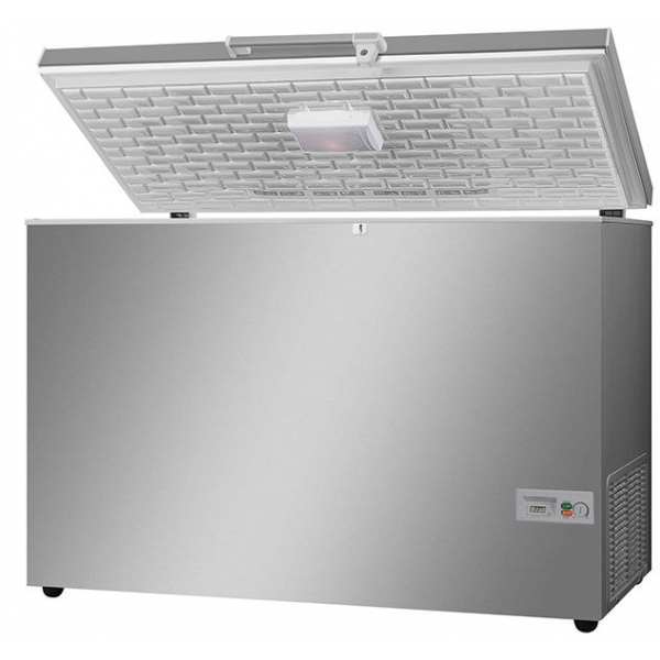 Vestfrost Stainless Steel Lid Chest Freezer
