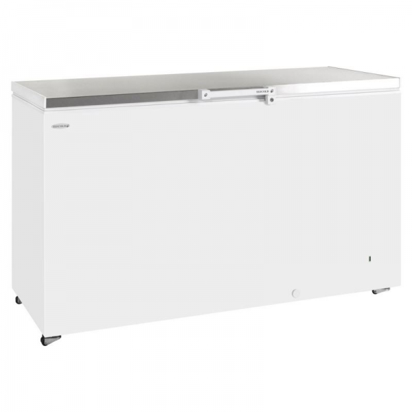 Tefcold GM500SS Solid Lid Chest Freezer