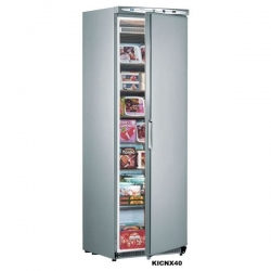 Mondial Elite NX40 340 Litres Stainless Steel Upright Storage Freezer