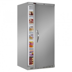 Tefcold UF550S 550 Litre Stainless Steel Upright Freezer
