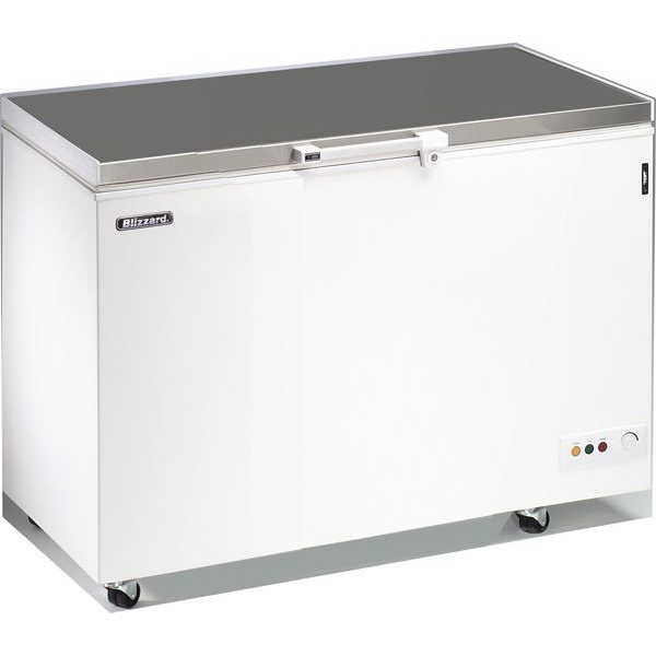 Blizzard Stainless Steel Lid Chest Freezer