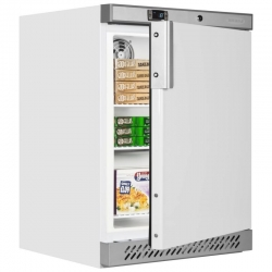 Tefcold UF200 140 Litre Single Door Undercounter Freezer