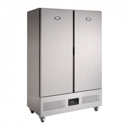 Foster FSL800H 800Ltr Slimline Double Door Storage Fridge