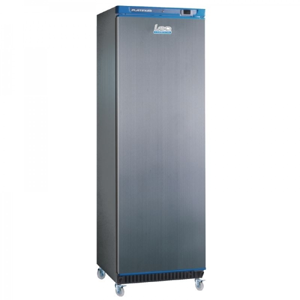 LEC CSR400ST 400 Litre Single Door Stainless Steel Storage Fridge