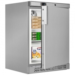 Tefcold UF200VS 120 Litre Stainless Steel Undercounter Storage Freezer