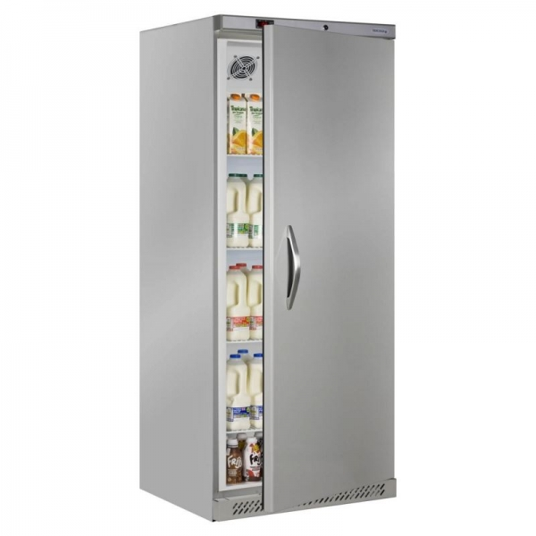Tefcold UR600S 600 Litre Single Door Stainless Steel Storage Fridge