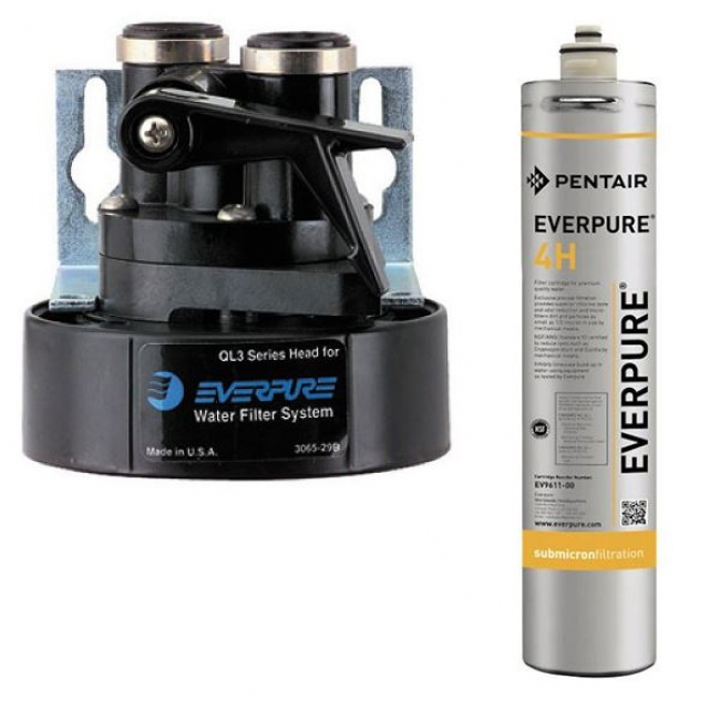 Everpure water filter kit heads fittings and cartridge for Everpure water filter review