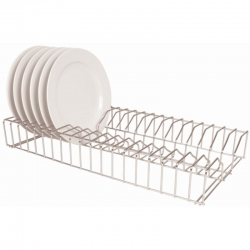 Vogue 0.6m Stainless Steel Plate Racks