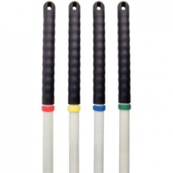 Jantex DN819 Colour Coded Clipex Broom and Mop Handle