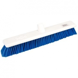 "Jantex DN832 18"" Soft Hygiene Blue Broom Head"