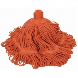 Jantex DN824 Antibacterial Bio Fresh Red Socket Mop Head