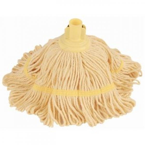 Jantex Yellow Antibacterial Bio Fresh Socket Mop Head