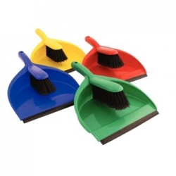 Soft Bristle Dustpan & Brush Set