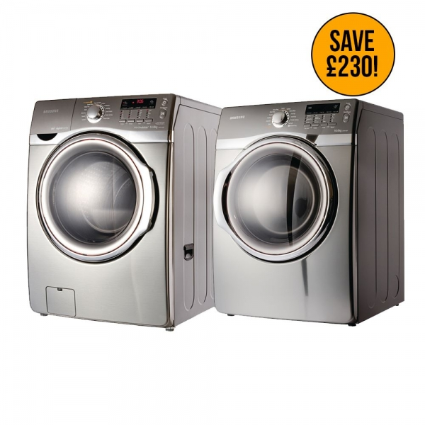 Samsung 10kg Commercial Dryer and 14kg Washing Machine Combo