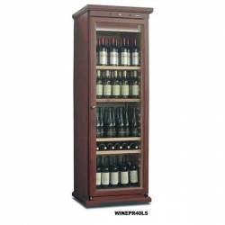 Mondial Elite WINEPR40LS 380 Litre Upright Walnut Wine Cooler