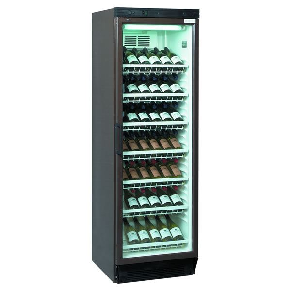 Tefcold fs1380w 372 litre single door upright wine cooler Wine cooler brands