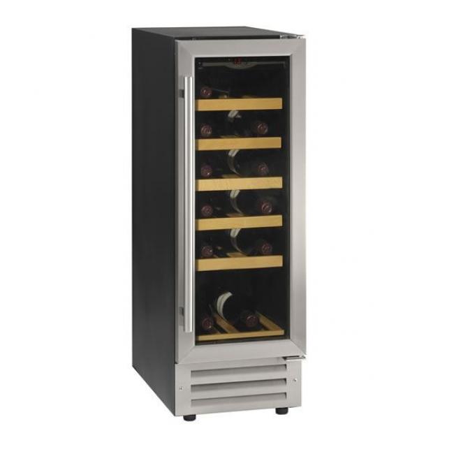 tefcold tfw80s 18 bottle slimline undercounter wine cooler. Black Bedroom Furniture Sets. Home Design Ideas