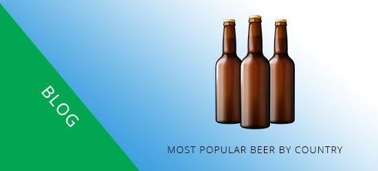Most Popular Beer By Country