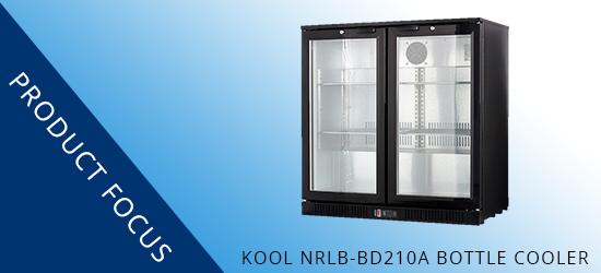 Product Focus: KOOL NRLB-BD210A HINGED DOUBLE DOOR BOTTLE COOLER