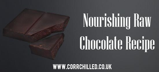Nourishing Raw Chocolate Recipe