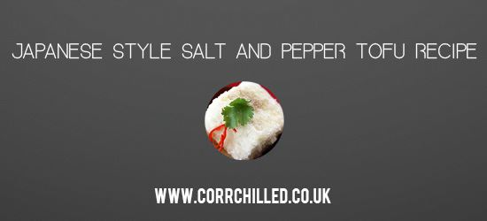 Japanese Style Salt and Pepper Tofu Recipe