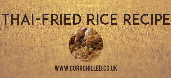 Thai-Fried Rice Recipe
