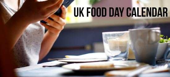 UK Food Day Calendar