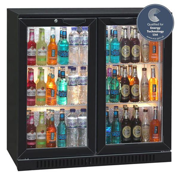Blizzard BAR2 Double Door Bottle Cooler