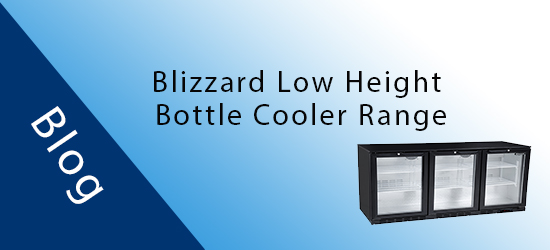 Blizzard Introduces Low Height Bottle Coolers